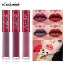 Marque mat liquide rouge à lèvres brillant à lèvres rouge noir étanche longue durée hydratant Nude rouge à lèvres Kit Set Lipgloss lèvres maquillage