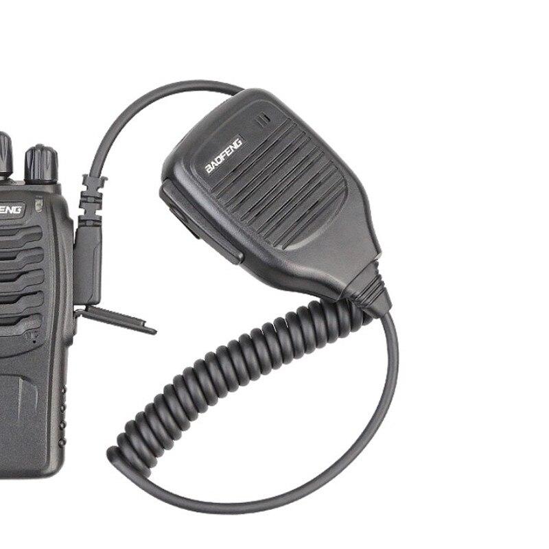 100% оригинальная портативная рация Baofeng, аксессуары, фотодинамик, микрофон, телефон, двусторонняя радиосвязь