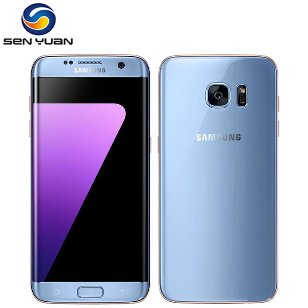 Original Unlocked Samsung Galaxy S7 edge G935F/G935V mobile phone 4GB RAM 32G ROM Quad Core WIFI GPS 5.5 12MP LTE