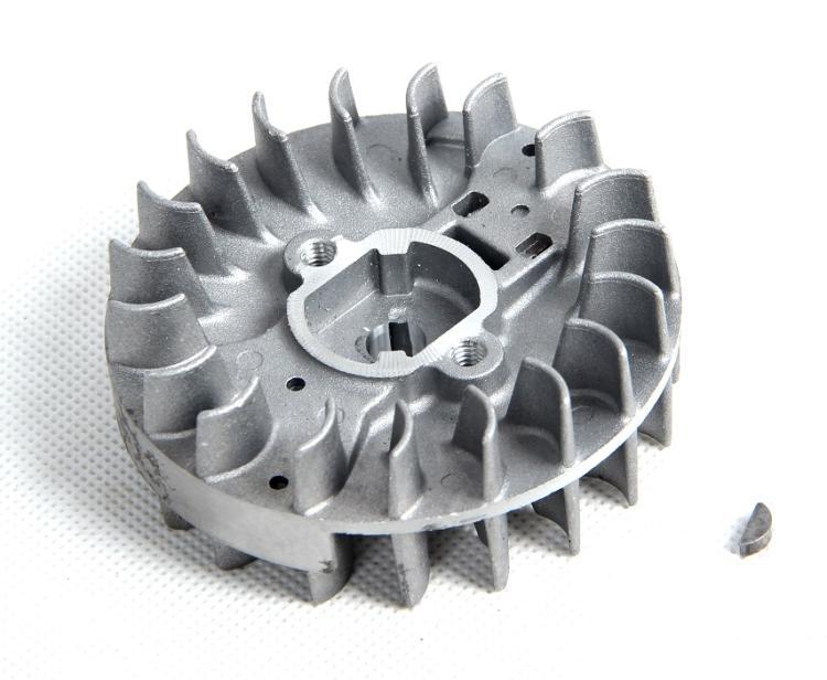 1/5 scale rc car peças de reposição roda de mosca para ROVAN 32cc motor ZENOAH ajuste para LOSI 5IVE-T Rovan LT Kingmotor baja 5B 5 t 5SC
