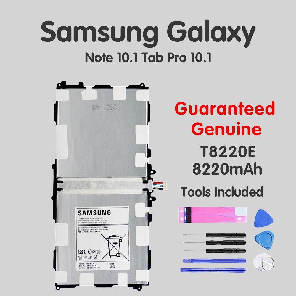 Оригинальный планшетный аккумулятор T8220E для Samsung Galaxy Note Tab 10,1 2014 Edition SM-P601 P600 T520 P601 P605 P607 8220mAh Batteria