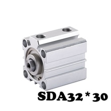 Cylindre Standard fin Type SDA cylindre Standard   Cylindre Standard, cylindre pneumatique Compact et fin, SDA32 * 30, livraison gratuite