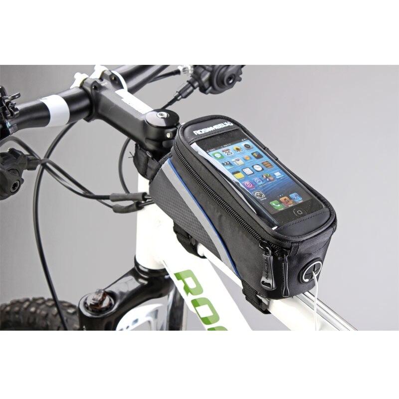 Велосипедные Сумки ROSWHEEL, велосипедная Рама, сумки для IPHONE, держатель, сумка для мобильного телефона