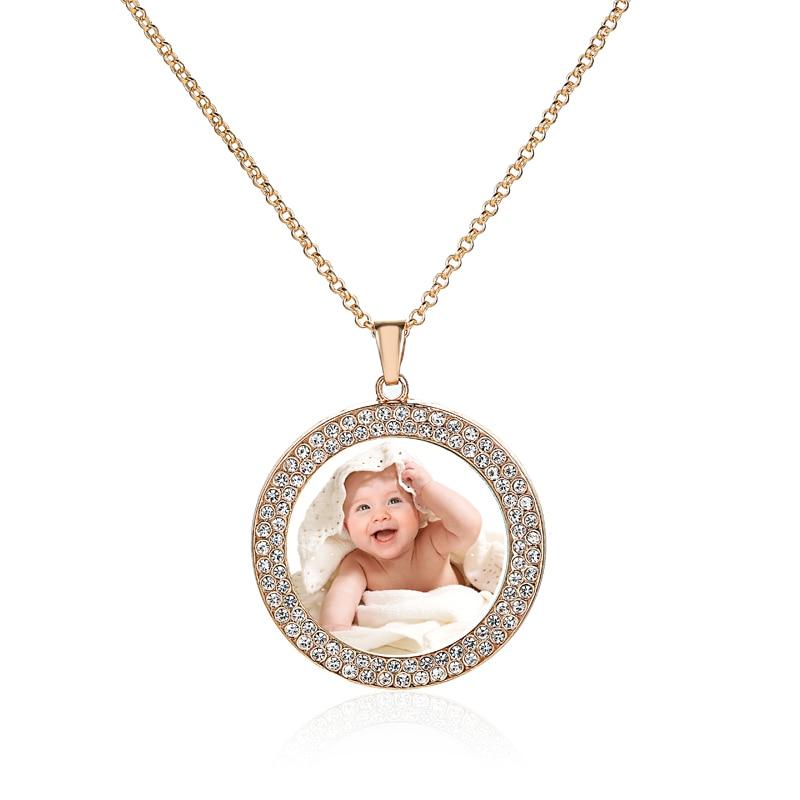 Ожерелья-и-подвески-с-персонализированным-изображением-цепочки-золотого-цвета-с-кристаллами-фото-чокер-памятные-ювелирные-изделия