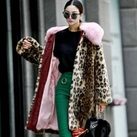 2020 limited jacket vest sale time limited faux full women clothes coat long teddy collar imitation mink womens winter coats