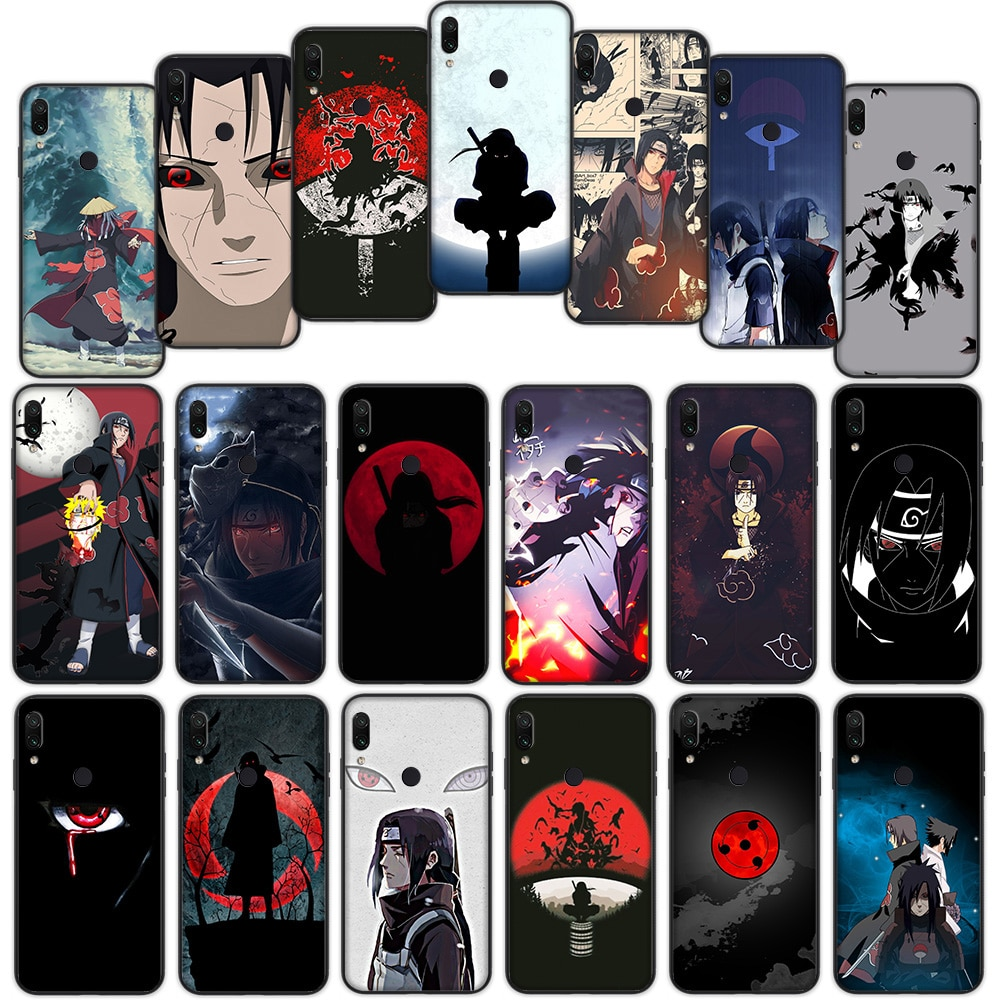 Funda blanda de Naruto Uchiha Itachi para Xiaomi Redmi Note 7 4 4X 6 Pro 5 Plus 5A 6A Go S2