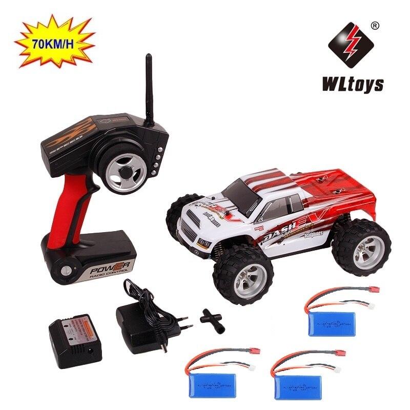 WLtoys A979-B 70km/h RC Car toys 2.4G Control Truck RC Buggy High speed off-road Car A979B VS A959-B RC Racing Car