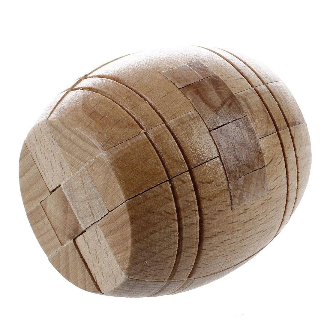 Juguete rompecabezas de cubo con cerradura de madera WOTT Kongming Luban