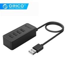 ORICO 4 Port USB 2.0 HUB with Micro USB and Type-A Input USB2.0 Splitter for iMac Computer Laptops phone Macbook Tablet USB HUB