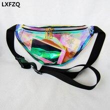 Nouveau fanny pack femmes sacs à main Laser sac à main translucide réfléchissant poitrine taille sac femmes ceinture sac taille jambe sac taille pack