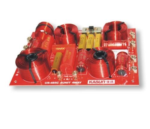 ل KASUN US-485C 4 طريقة 4 وحدة مرحبا فاي المتكلم تردد مقسم كروس FiltersX2