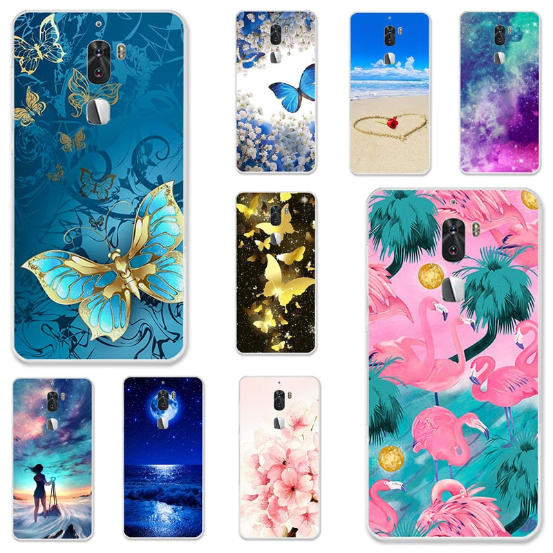 TPU Cases For LeEco Cool 1 Case Silicone Floral Painted Bumper For LeEco cool 1 Dual Leeco Coolpad C