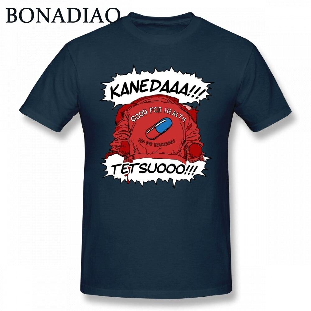 Camiseta de Shotaro Kaneda de Akira para hombre, Camiseta estampada de Anime...