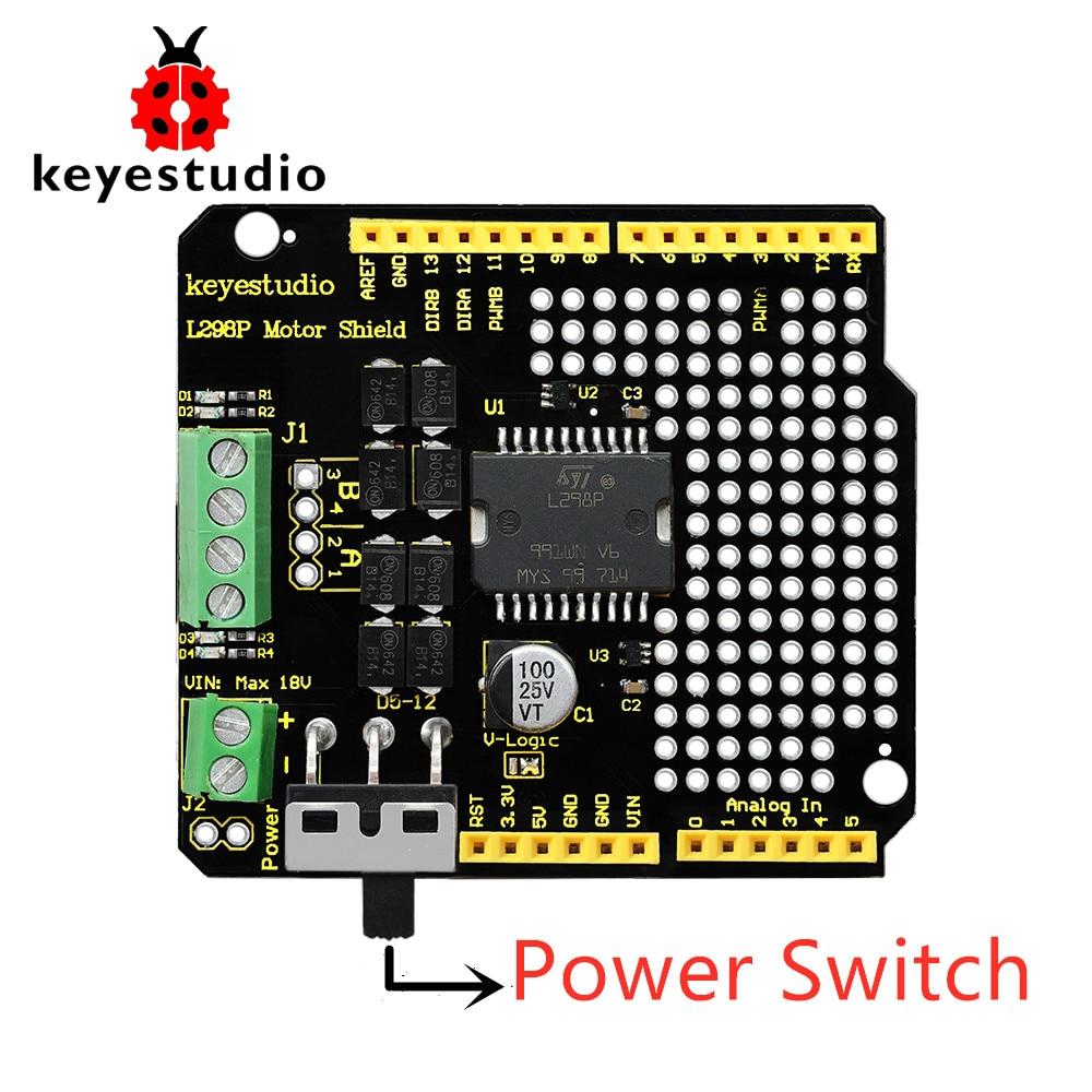 Обновленная версия-экран Keyestudio L298P с в�