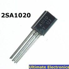 50 PIÈCES 2SA1020 A1020 TO-92L PNP 50V 2A 0,9W Transistor