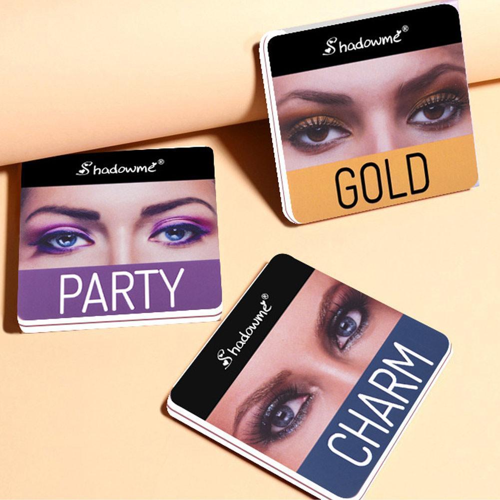 4 Color de sombra de ojos de colores corrector resistente al agua para los ojos paleta de maquillaje de larga duración sombra de ojos