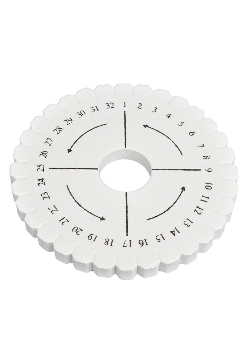 Круглая оплетка Kumihimo 10,5 см 5 шт.