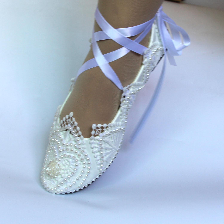 2019 bajo alta hee de encaje, zapatos de boda, zapatos de tacón bajo zapatos de fiesta Mujer Zapatos de punta redonda