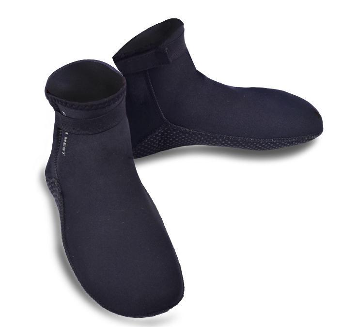 3.5MM Neoprene Socks Wetsuit Boots Kids/Adult Anti-Slip Black Scuba Diving Wet Shoes Swimming Beach Water Gear DEO