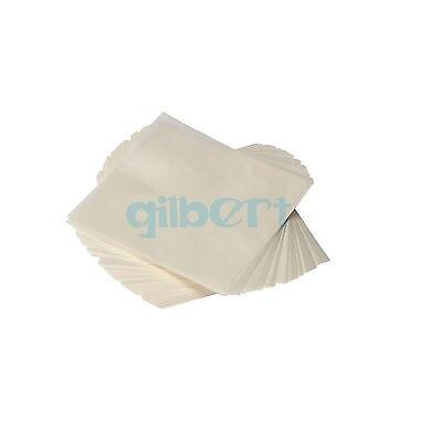 PK500 75x7 5/100x10 0/150x150mm forma cuadrada analítica de laboratorio que pesa papel de mantequilla