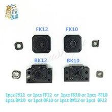 BK10 BF10 BK12 BF12 FK10 FF10 FK12 FF12 support de siège à extrémité fixe 8mm 10mm 12mm pour support de vis à bille 1 pièces