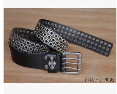Free Shipping,Top new natural 100% cow leather buckle belt.brand genuine leather fashion vintage rivet belts,self-defense tool