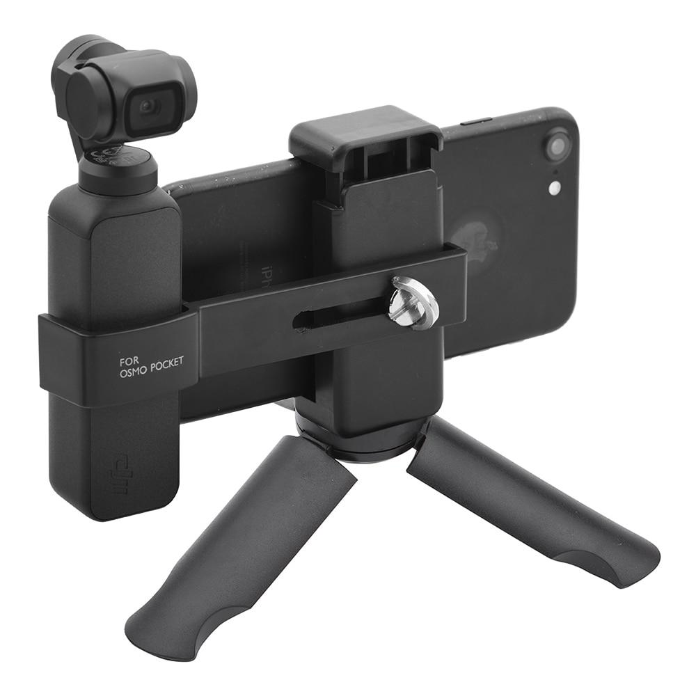 Phone Holder Clip Desktop Mini Tripod Bracket Mount Quick Release Design Handheld Gimbal for DJI Osmo Pocket Spare Parts