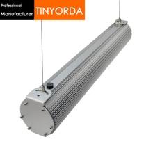 Tinyorda THD100 2 pièces (1M de longueur) 100W pendentif LED profil de lumière suspendu lumière basse baie lumière dissipateur thermique [fabricant professionnel]