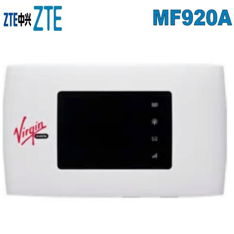 Nuevo ZTE MF920a 4G LTE móvil WiFi inalámbrico de bolsillo Hotspot Router módem desbloqueado