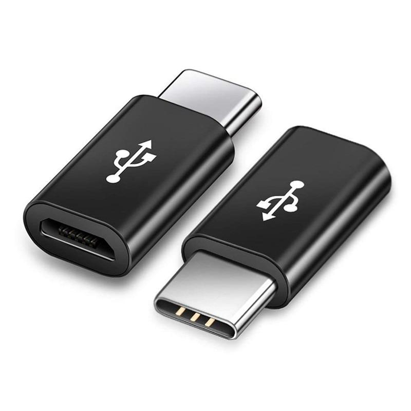 Adaptador de datos de carga Micro USB hembra a USB 3,1 tipo...