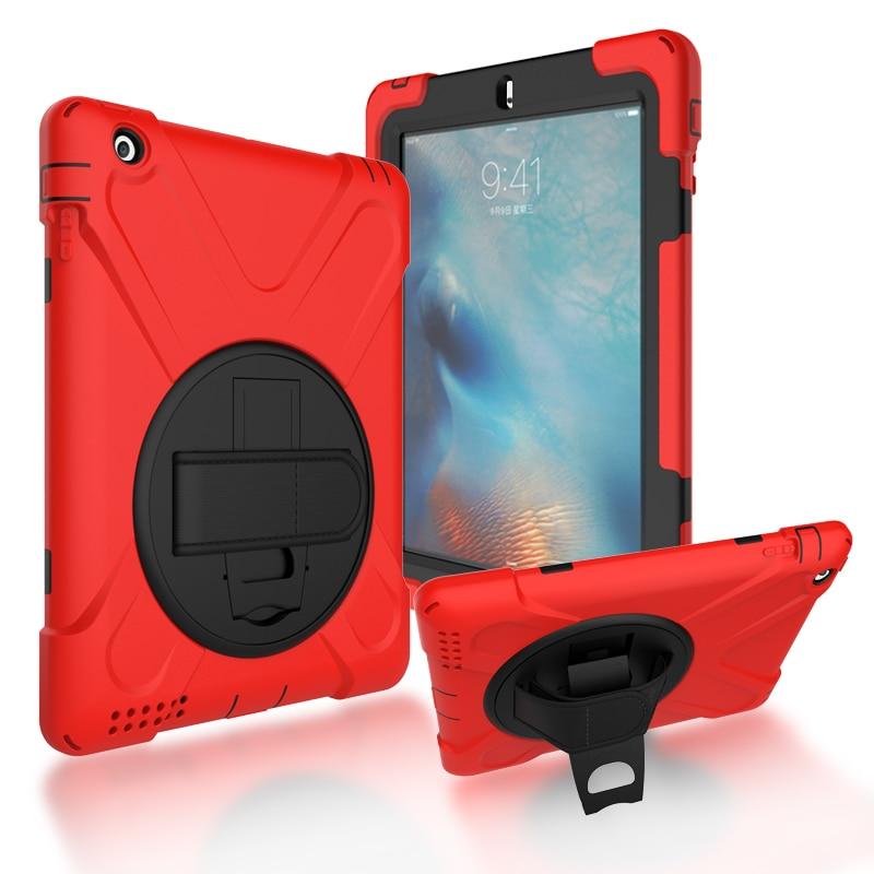 Чехол для iPad 2 / iPad 3 / iPad 4 чехол s противоударный Детский защитный чехол для iPad2 / iPad3 / iPad4 чехол сверхпрочный силиконовый Жесткий Чехол чехол