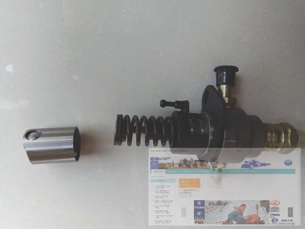 Насос подачи топлива для двигателя Wuxi KAMA KM12DL500F, насос без электромагнитного переключателя