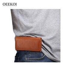 OEEKOI ceinture Clip PU cuir taille titulaire Flip pochette pour Prestigio Muze U3 Lte/Muze X5 LTE/Grace M5 LTE/Grace P5/Muze B7