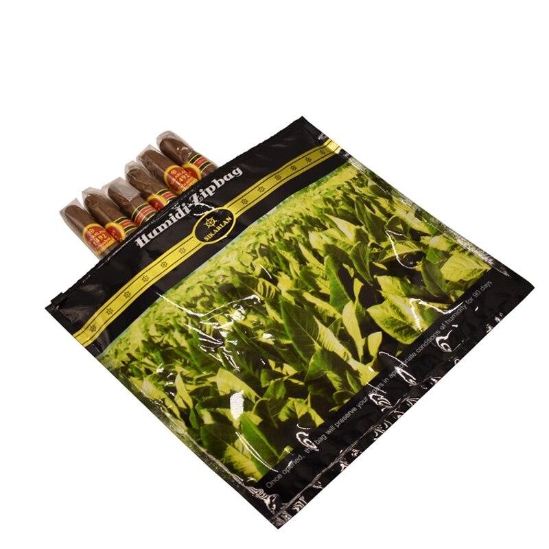 65%-75% оптимальный влагостойкий пластиковый увлажняющий пакет для сигар дорожный увлажнитель для сигар сумка для табака увлажняющий мешок для влажности