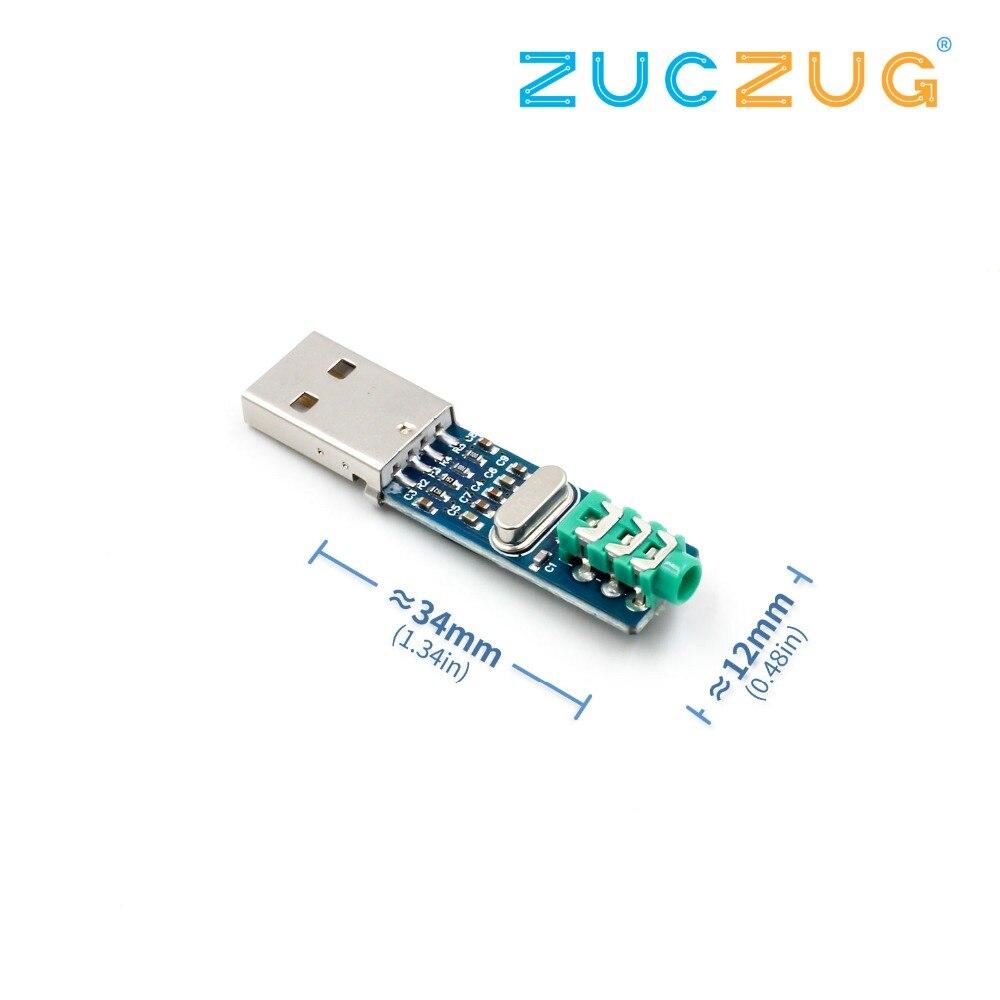 5 V Mini PCM2704 USB DAC HIFI Scheda Audio USB di Alimentazione USB DAC Scheda di Decodifica Modulo Raspberry Pi 16 Bit