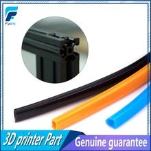 2 Meters Black/Orange/Blue 6mm Flat Seal 2020 Aluminum Profile Slot Cover / Panel Holder  For CNC C-Beam Machine CR-10