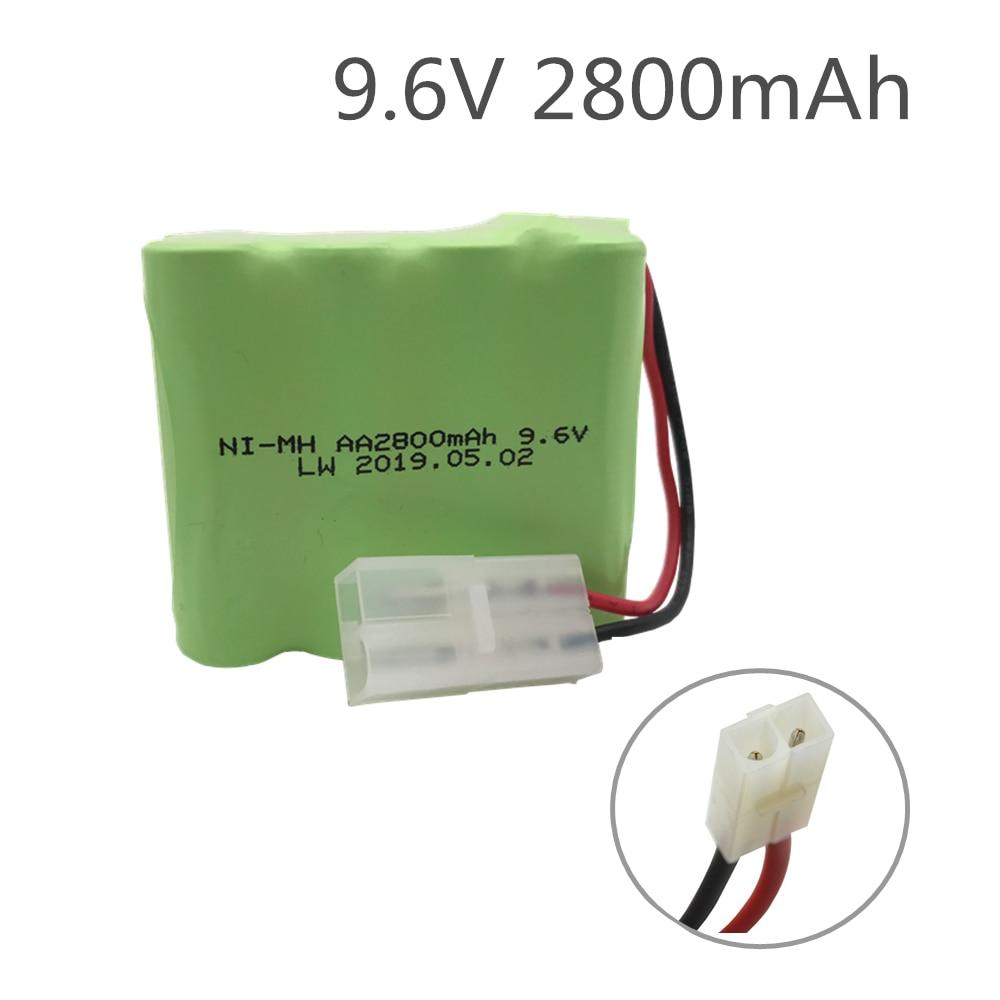 1 Uds 2800mah ni-mh batería 9,6 V de la batería de 9,6...