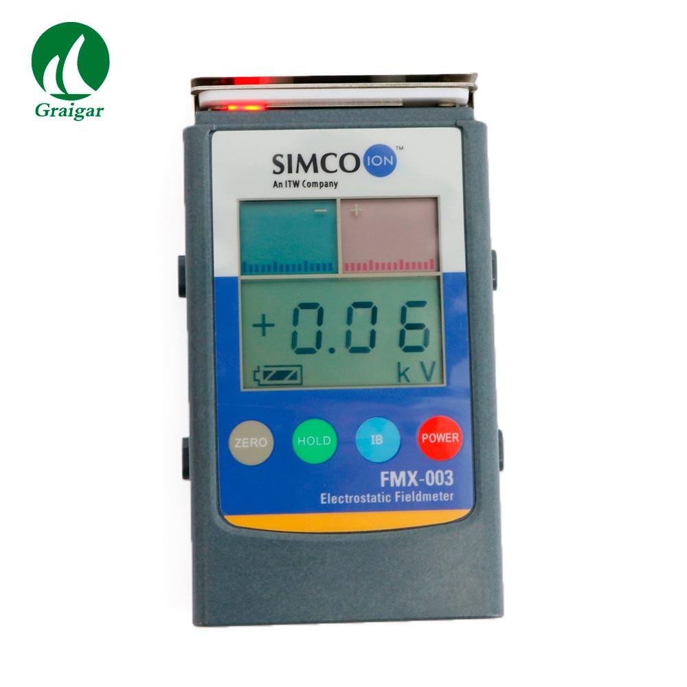 FMX-003 força de campo eletrostática do fieldmeter e verificador da polaridade