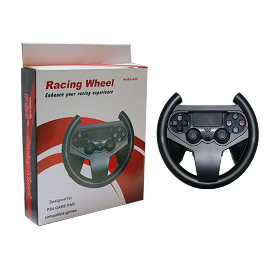 Купить с кэшбэком for PS4 Gaming Racing Steering Wheel For PS4 Game Controller for Sony Playstation 4 Car Steering Wheel Driving Gaming Handle
