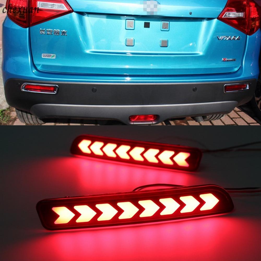 CSCSNL 1 par para Suzuki Ertiga Vitara Ciza s-cross SX4 Splash lámpara de freno luz trasera antiniebla luz trasera luz de advertencia LED