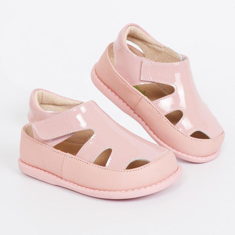 TipsieToes 2020 100% Soft Leather In Summer New Girls Children Beach Shoes Kids Sport Sandals 21034 Free Shipping Sandali