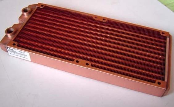 Full Top copper 240P katyusha 240t computer water cooling radiator water cooling