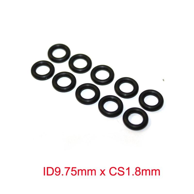 ID9.75mm x CS1.8mm Nitrile Rubber NBR O Rings Seals Grommet