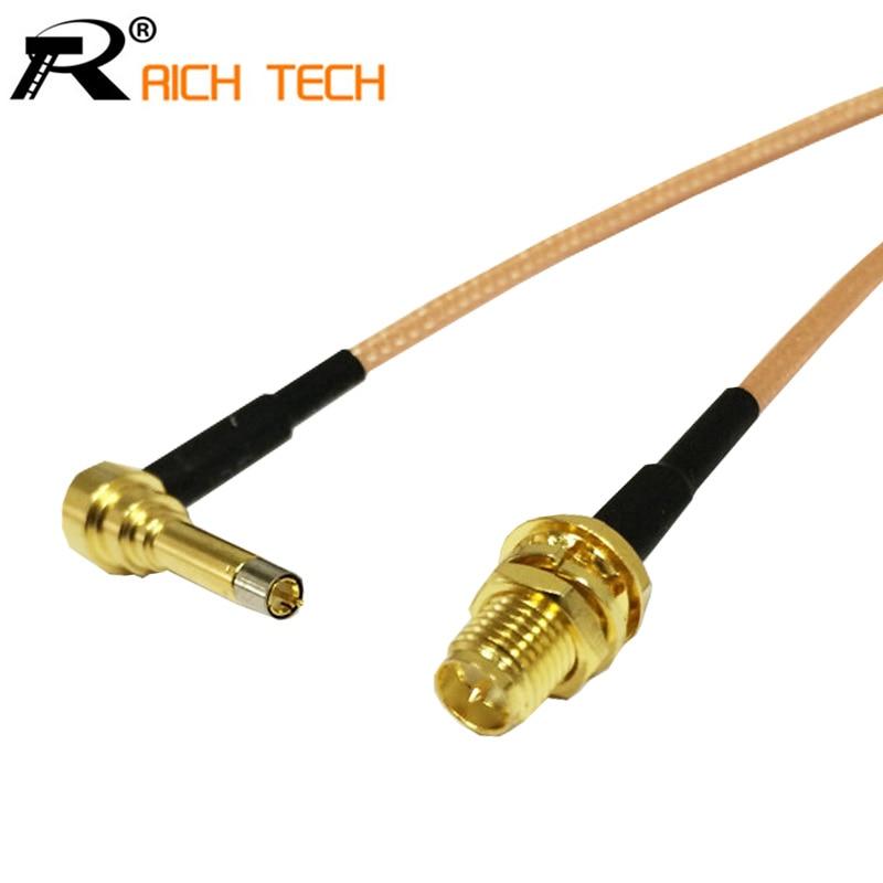 RF RP interruptor hembra SMA módem 3G conector de Cable Asamblea LTE Yota una LU150/Huawei E1550 E171 E153 ZTE/MF100 MF180 15CM