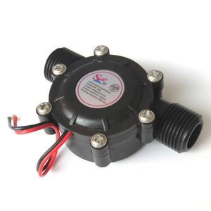 Water flow generator DC5V DC12V miniature hydro generator supplies power to the induction sanitary ware display