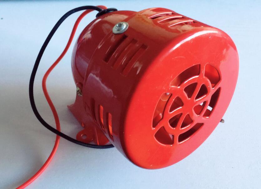 Motor de alarme de Incêndio alarme 120dB MS-190 concha de metal de Metal Alarme Buzzer AC110V AC220V