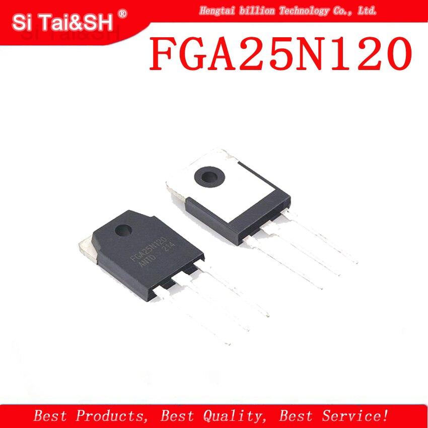 Индукционная плита FGA25N120 25N120 TO-3P ANTD, выделенная электрическая трубка IGBT, 1 шт.