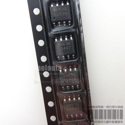 10 piezas 50 piezas 100% nuevo original TDA4863-2G SOP8 TDA4863G 100% 1 mejor encuentro