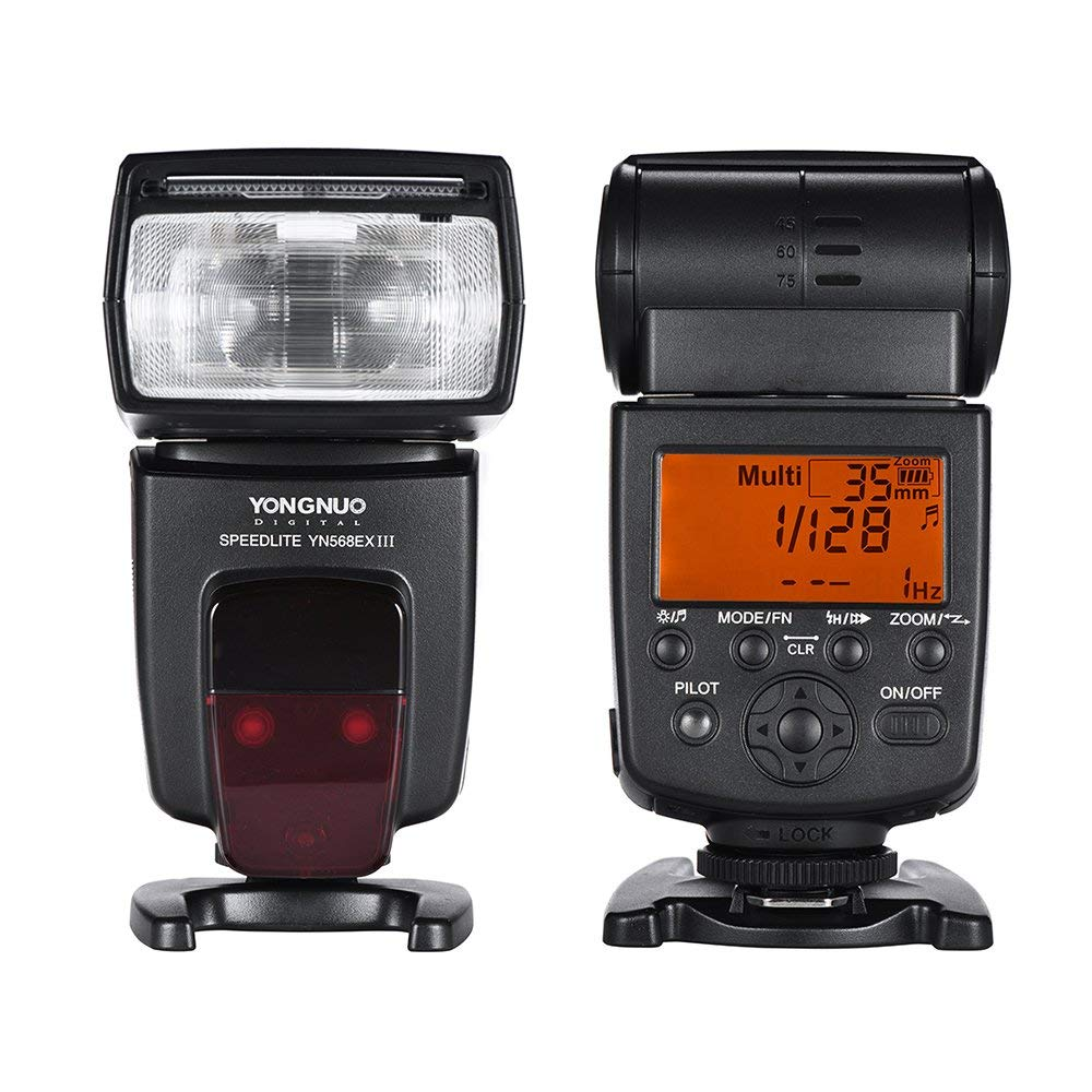 Беспроводная вспышка Yongnuo YN-568EX III YN568EX III TTL HSS для Canon 5D3 5D2 6D 7D 5d mark iv Nikon D800 D750 D7100