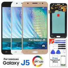Original para SAMSUNG Galaxy J5 J500 J500F J500FN pantalla lcd Pantalla de reemplazo para Samsung SM-J500G J500H J500M Módulo de pantalla